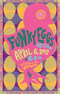 FunkyEggs - Gallery at the Wauregan