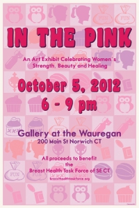 In the Pink poster- Gallery at the Wauregan