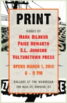 Print show poster 2