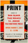 Print show poster 1