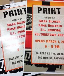 PRINTshow posters