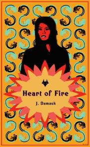 Heart of Fire cover art (c)sljohnson2014