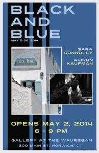 Black and Blue - Gallery at the Wauregan