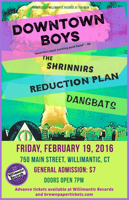 WIlliRecords - Feb 19 2016 - Dwntwn Boys OR CONWEB